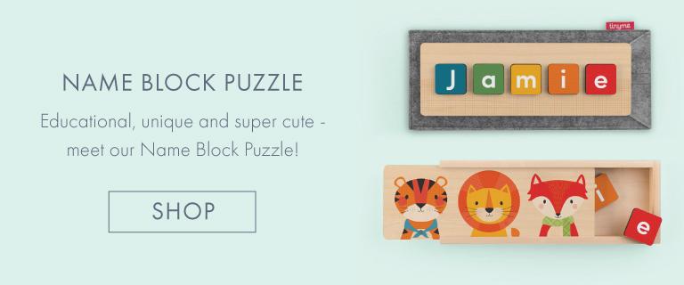 Personalised Name Blocks Puzzles