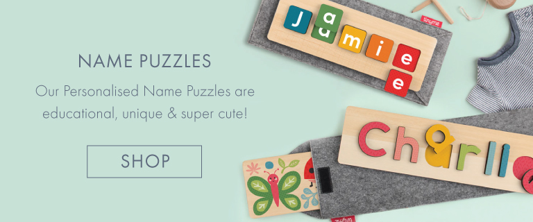 Tinyme Personalised Name Puzzles